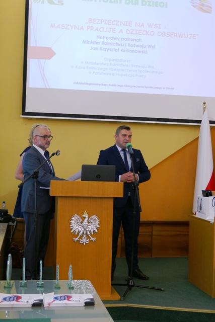 wystąpienie Dyrektora Biura Prewencji Centrali KRUS Cezarego Nobisa.jpeg
