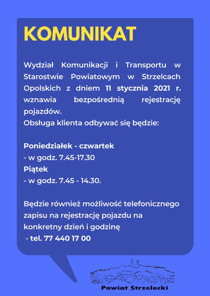 Wydział Komunikacji i Transportu