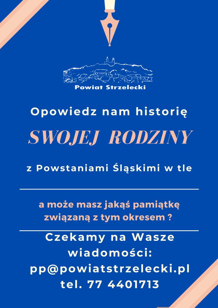 Historie z Powstaniami Śl. w tle