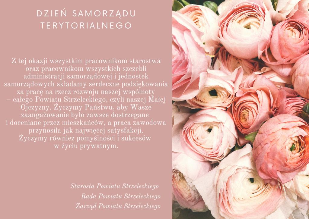 Brzoskwiniowa Kwiaty Dzień Babci Kartka.png